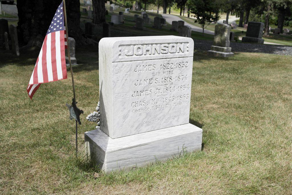 Johnson Gravestone